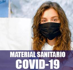 material sanitario covid-19